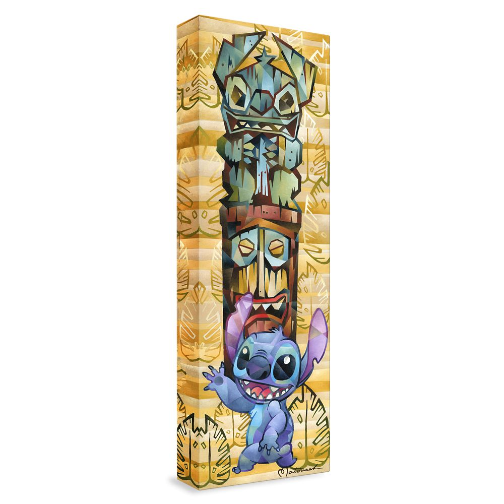 ''Tiki Stitch'' Giclée on Canvas by Tom Matousek – Limited Edition