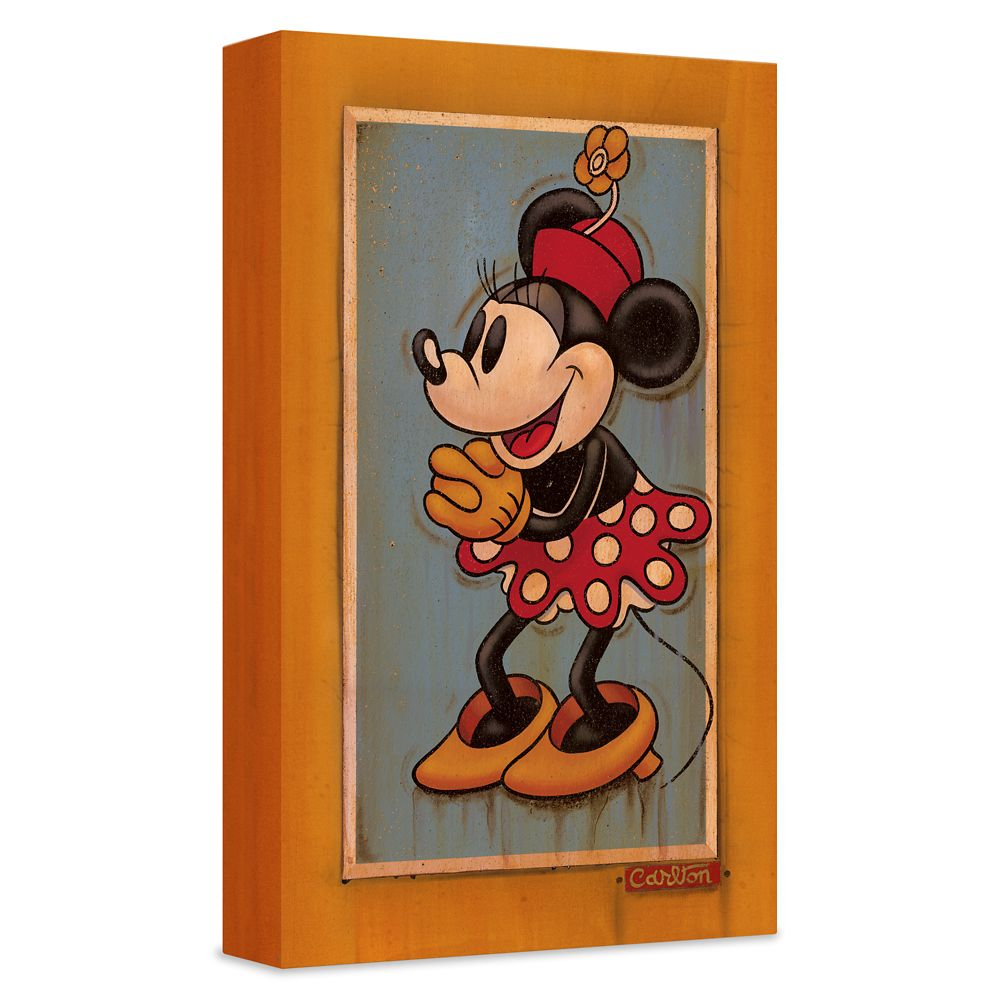 ''Vintage Minnie'' Giclée on Canvas by Trevor Carlton – Limited Edition