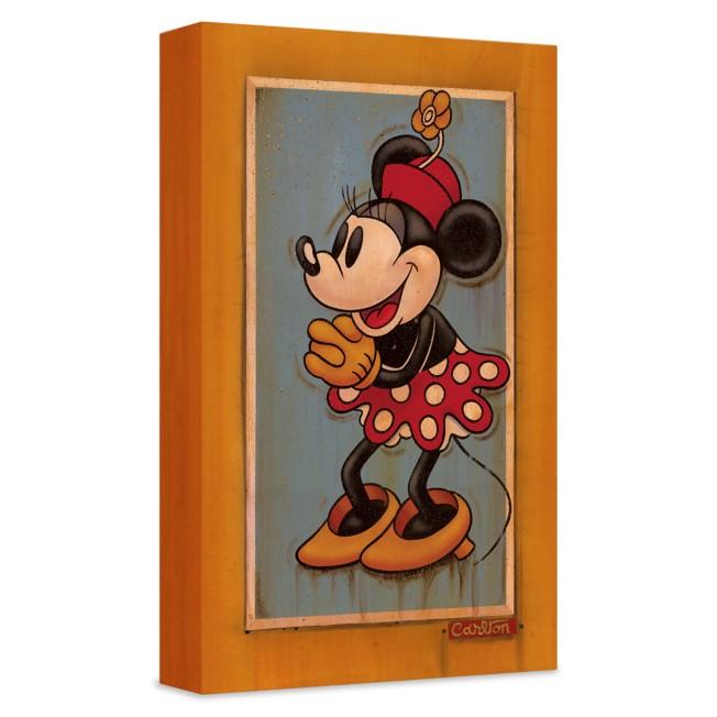 ''Vintage Minnie'' Giclée on Canvas by Trevor Carlton – Limited Edition