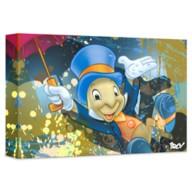 ''Jiminy Cricket'' Giclée on Canvas by ARCY – Limited Edition