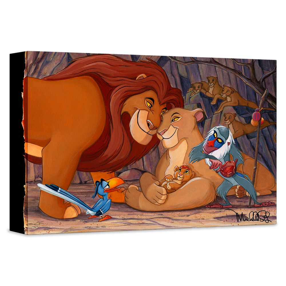 ''Prince of the Pride'' Giclée on Canvas by Michelle St. Laurent – Limited Edition
