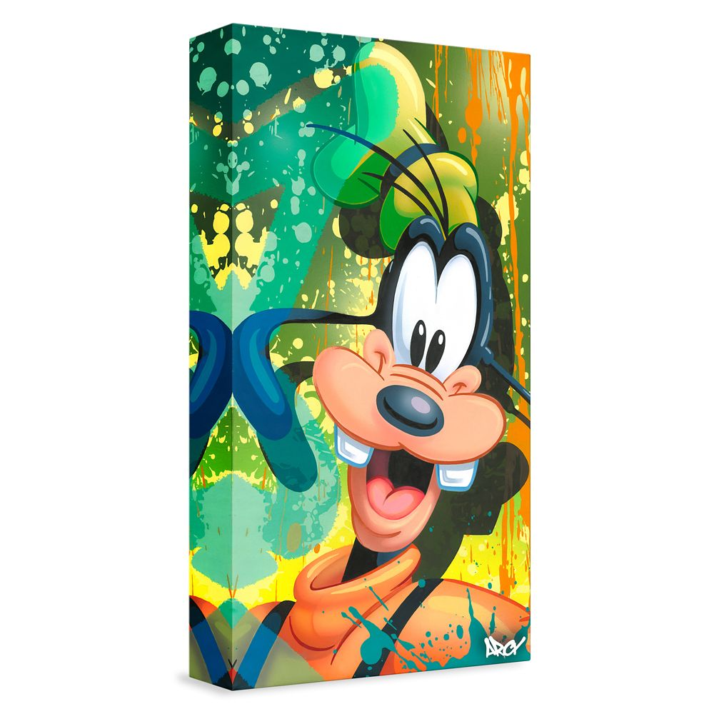 ''Goofy'' Giclée on Canvas by ARCY – Limited Edition