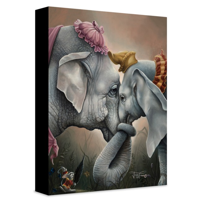 ''Together at Last'' Giclée on Canvas by Jared Franco – Limited Edition