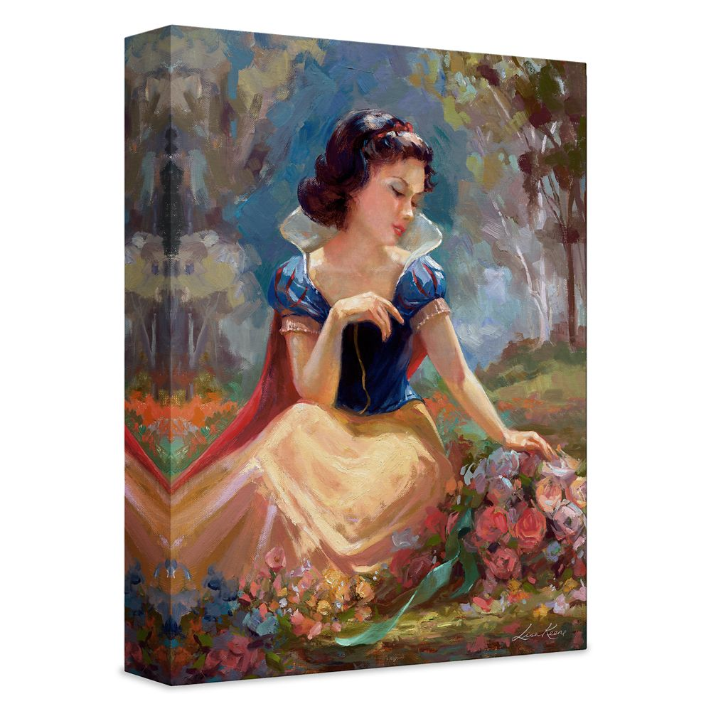 ''Gathering Flowers'' Giclée on Canvas by Lisa Keene – Limited Edition