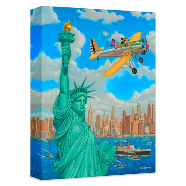 ''Freedom Flight'' Giclée on Canvas by Manuel Hernandez – Limited Edition