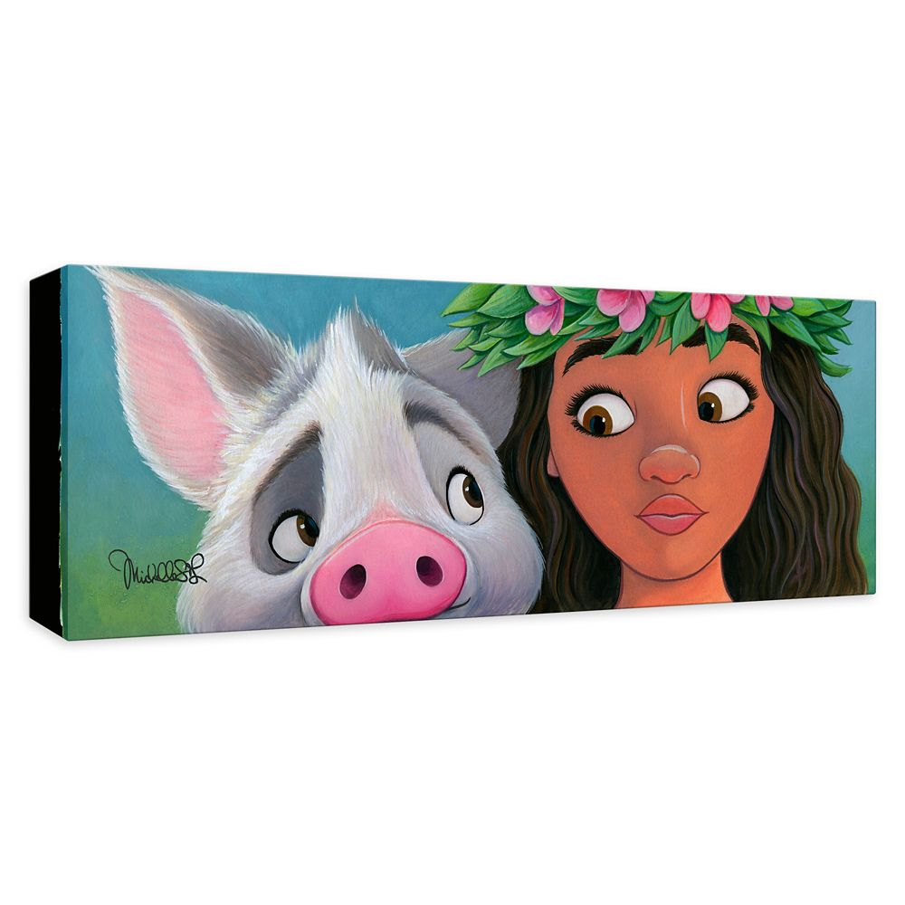 ''Moana's Sidekick'' Giclée on Canvas by Michelle St. Laurent – Limited Edition