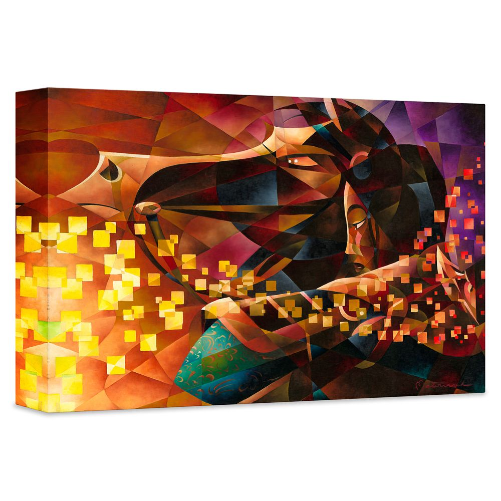 ''Mulan the Warrior'' Giclée on Canvas by Tom Matousek – Limited Edition