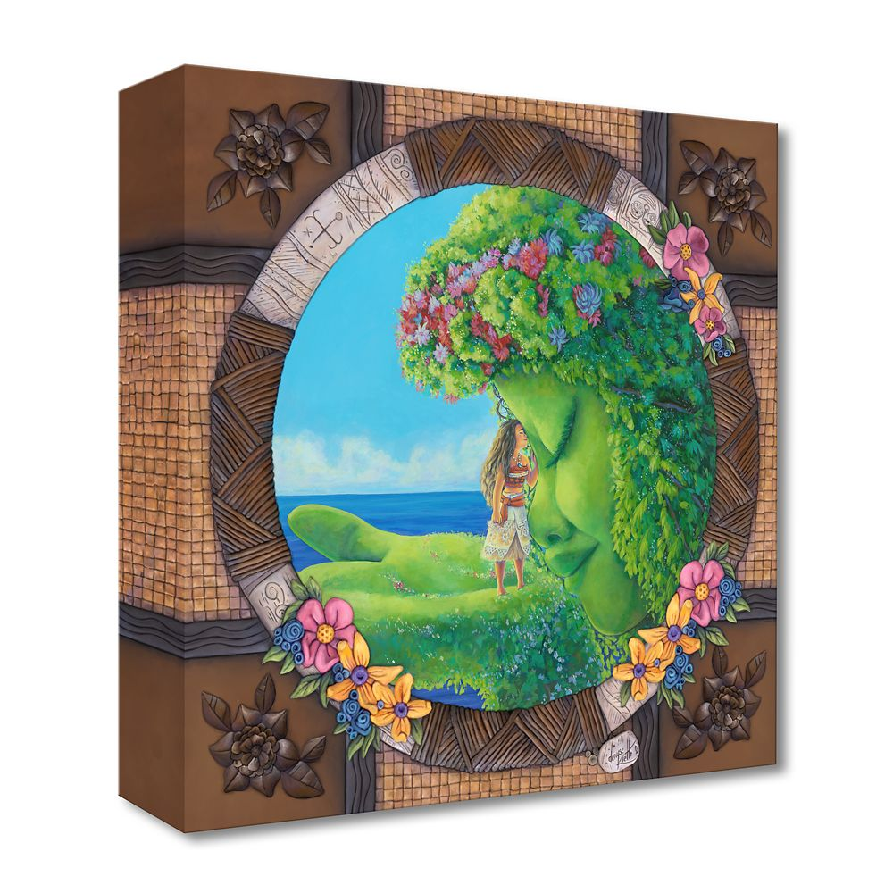 Moana ''Te Fiti'' Giclée on Canvas by Denyse Klette – Limited Edition