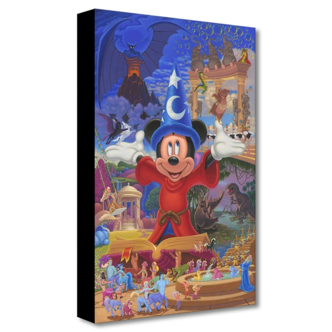 Fantasia ''Story of Music and Magic'' Giclée on Canvas by Manuel Hernandez – Limited Edition