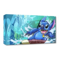 Stitch ''Surf Rider Stitch'' Giclée on Canvas by ARCY – Limited Edition