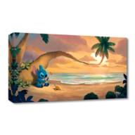 Stitch ''Sunset Serenade'' Giclée on Canvas by Rob Kaz – Limited Edition