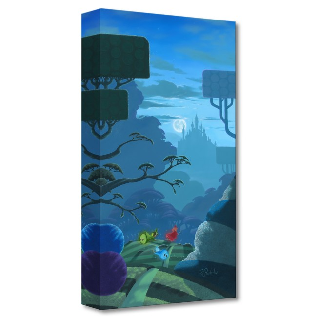 Sleeping Beauty ''Night Flight'' Giclée on Canvas by Michael Provenza – Limited Edition
