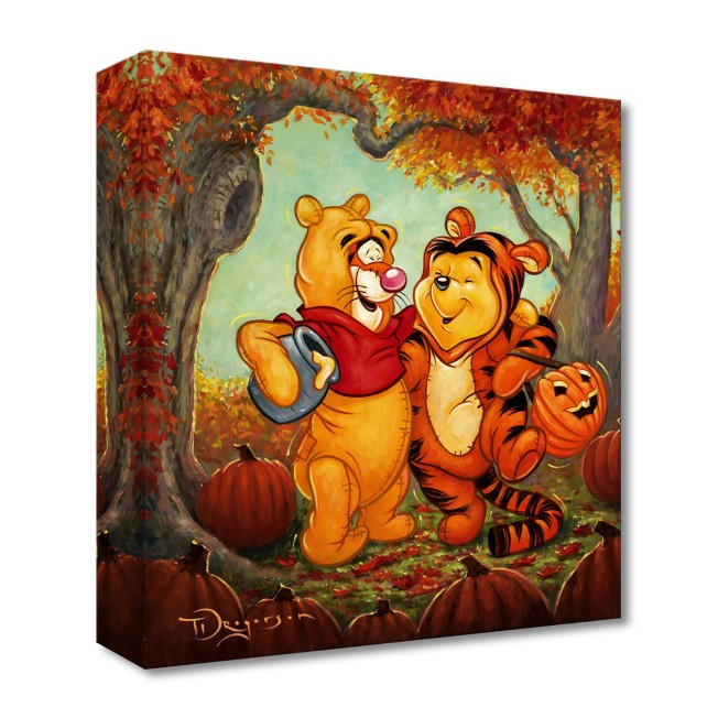 Winnie the Pooh and Tigger ''Friendship Masquerade'' Art by Tim Rogerson – Limited Edition