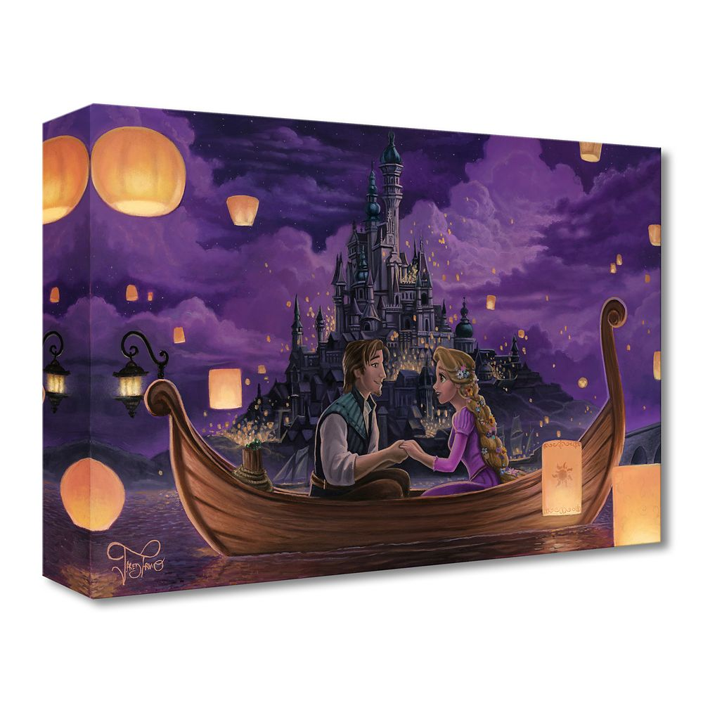 Tangled ''Festival of Lights'' Art by Jared Franco – Limited Edition
