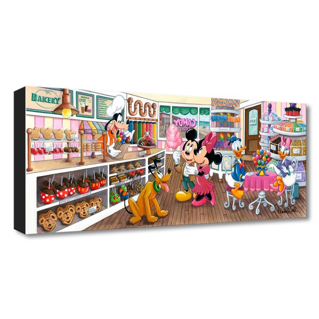 Mickey Mouse and Friends ''Trip to the Candy Store'' Art by Michelle St.Laurent – Limited Edition