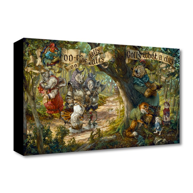 Robin Hood ''Oo-De-Lally'' Art by Heather Edwards – Limited Edition