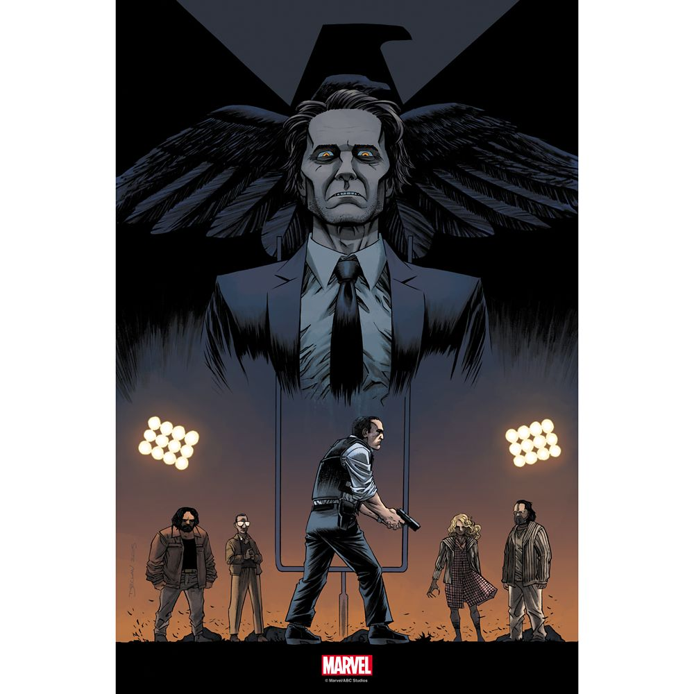 Marvel's Agents of S.H.I.E.L.D. ''One of Us'' Print – Limited Edition