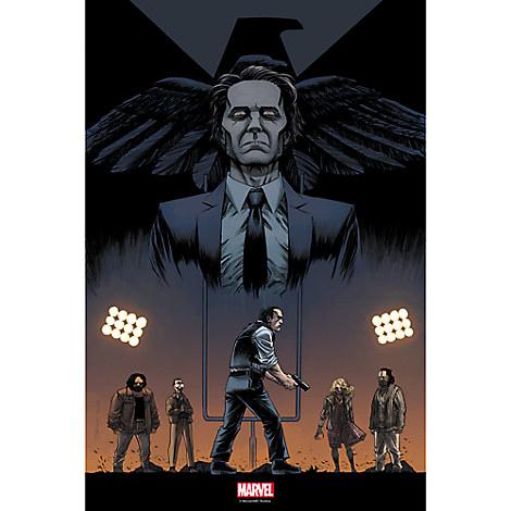 Marvel's Agents of S.H.I.E.L.D. ''One of Us'' Print - Limited Edition