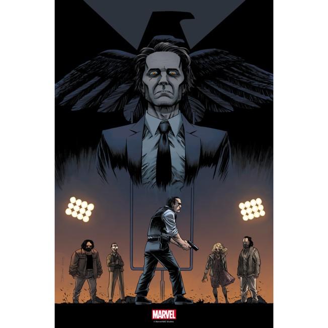 Marvel's Agents of S.H.I.E.L.D. ''One of Us'' Print – Limited Edition
