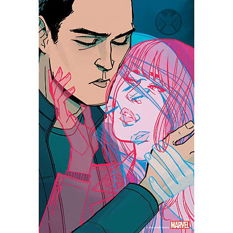 Marvel's Agents of S.H.I.E.L.D. ''Love In The Time of Hydra'' Print - Limited Edition