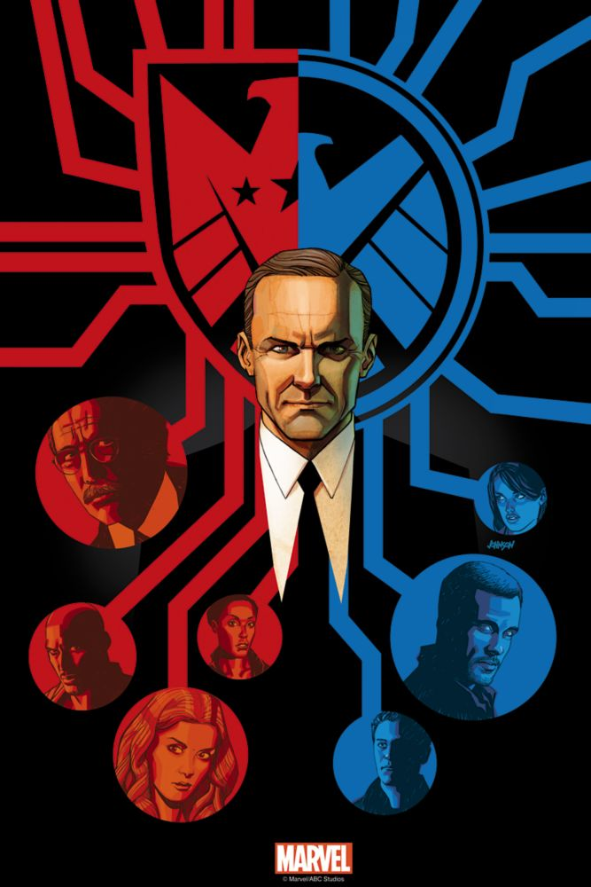 Marvel's Agents of S.H.I.E.L.D. ''Afterlife'' Print  Limited Edition Official shopDisney