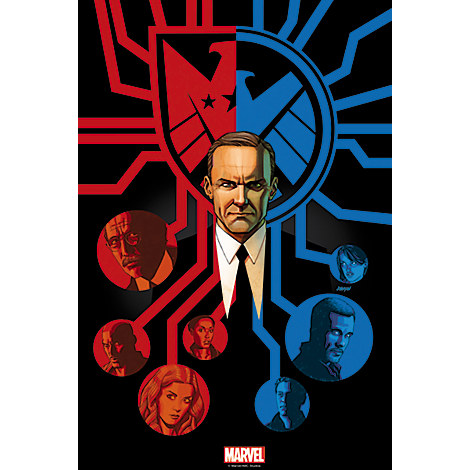 Marvel's Agents of S.H.I.E.L.D. ''Afterlife'' Print - Limited Edition