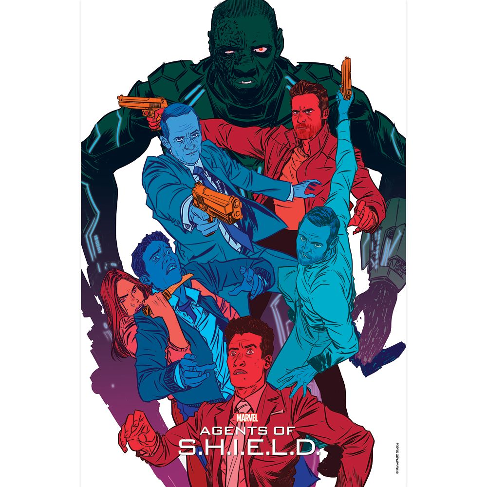Marvel's Agents of S.H.I.E.L.D. ''The Frenemy of My Enemy'' Print – Limited Edition