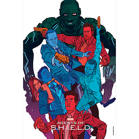 Marvel's Agents of S.H.I.E.L.D. ''The Frenemy of My Enemy'' Print - Limited Edition