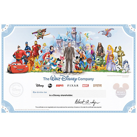 The Walt Disney Company Collectible Shareholder