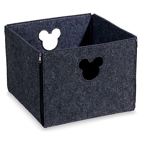 Mickey Mouse Fantastic Felt Square Basket by Ethan Allen
