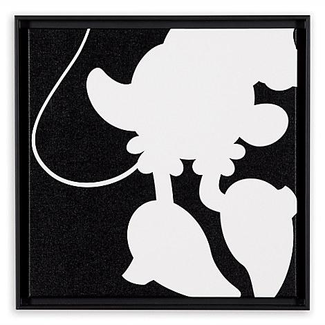 Minnie Mouse ''Minnie Quartet Part I'' Framed Giclée on Canvas by Ethan Allen
