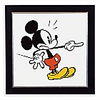 Mickey Mouse ''Mickey Shorts II'' Framed Giclée on Paper by Ethan Allen