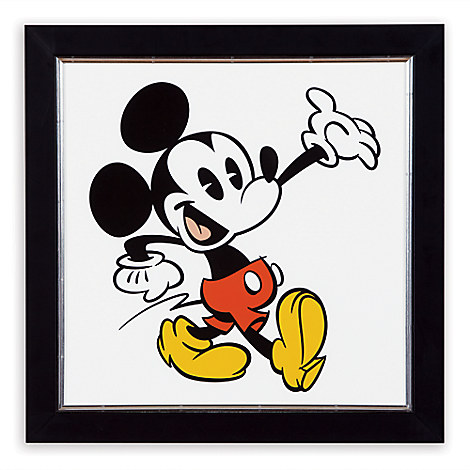 Mickey Mouse ''Mickey Shorts III'' Framed Giclée on Archival Paper by Ethan Allen