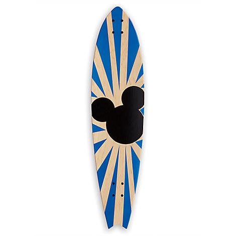 Mickey Mouse ''Mickey Longboard Wall Art I'' by Ethan Allen