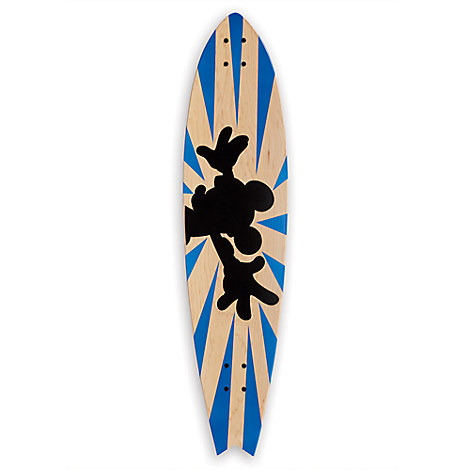 Mickey Mouse ''Mickey Longboard Wall Art III'' by Ethan Allen