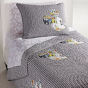 Mickey Mouse bedding Comic Collage Quilt by Ethan Allen