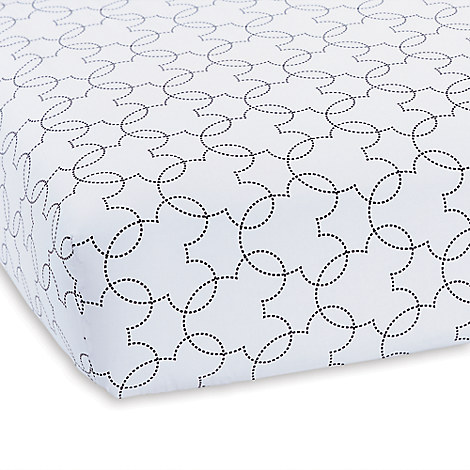 Mickey Mouse Dash Crib Sheet by Ethan Allen