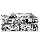 Mickey Mouse Comic Strip Sheet Set by Ethan Allen