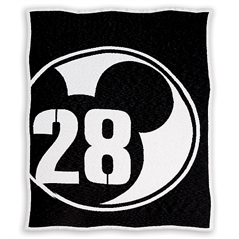 Mickey Mouse 28 Varsity Knit Throw by Ethan Allen