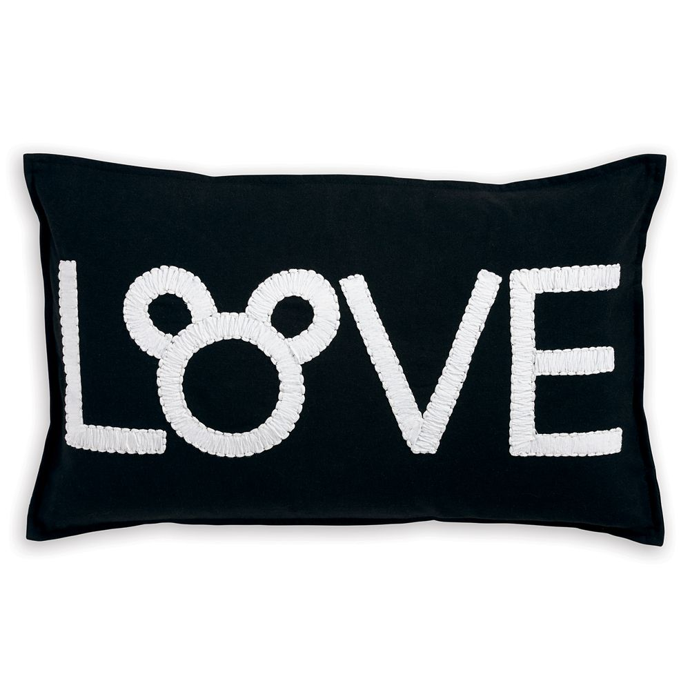 Mickey Mouse Love Pillow by Ethan Allen