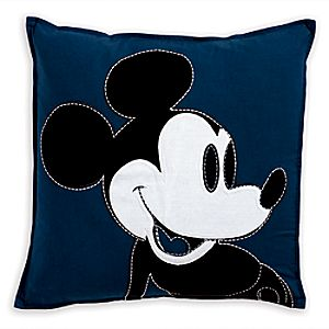 Mickey Mouse Color Block Pillow