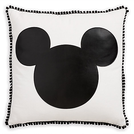 Mickey Mouse Icon Pillow by Ethan Allen