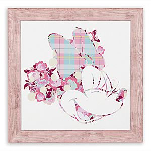 "Minnie Mouse ""How Sweet"" Framed Giclée on Archival Paper by Ethan Allen"