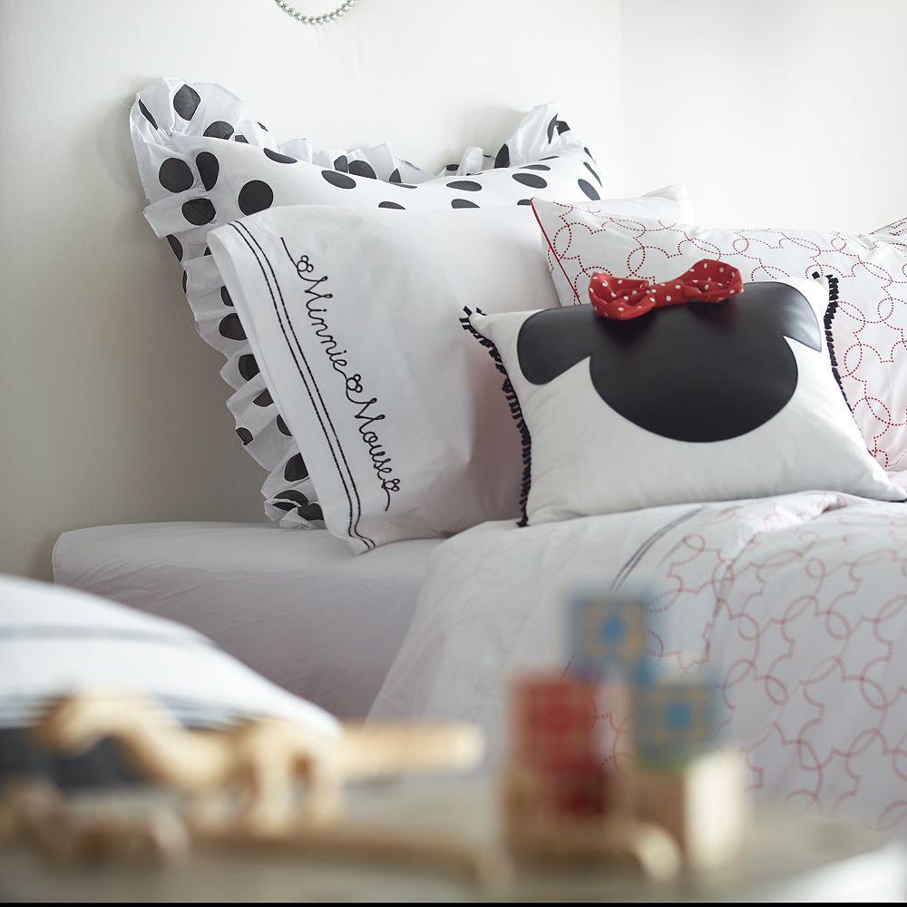 Minnie Mouse Grand Dotty Sham by Ethan Allen