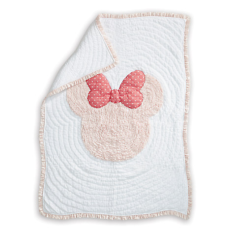 Minnie Mouse Really Ruffle Toddler Quilt by Ethan Allen