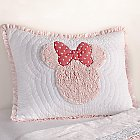 Minnie Mouse Really Ruffle Sham by Ethan Allen
