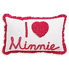 Minnie Mouse Really Ruffle Boudoir Pillow by Ethan Allen