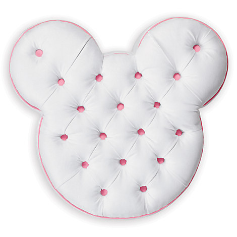 Mickey Mouse Pull-Up Ottoman by Ethan Allen - White