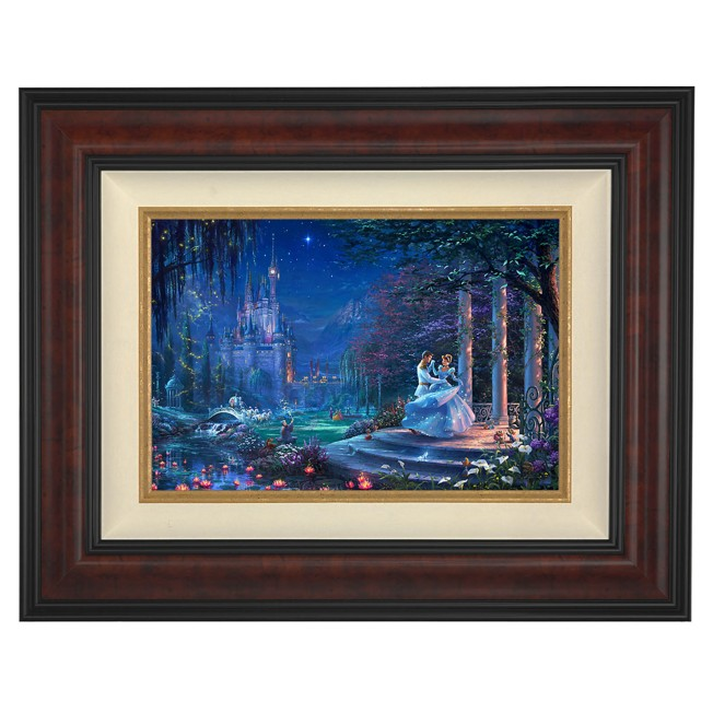 ''Cinderella Dancing in the Starlight'' Framed Limited Edition Canvas by Thomas Kinkade Studios
