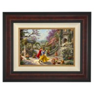 ''Snow White Dancing in the Sunlight'' Framed Limited Edition Canvas by Thomas Kinkade Studios